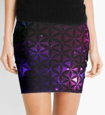 Sacred Geometry: Flower Of Life - Cosmos I Mini Skirt