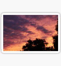 Sunset Silloutte  Sticker
