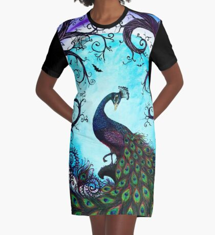 From Dusk til Dawn Graphic T-Shirt Dress
