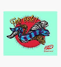 Fur eels Photographic Print