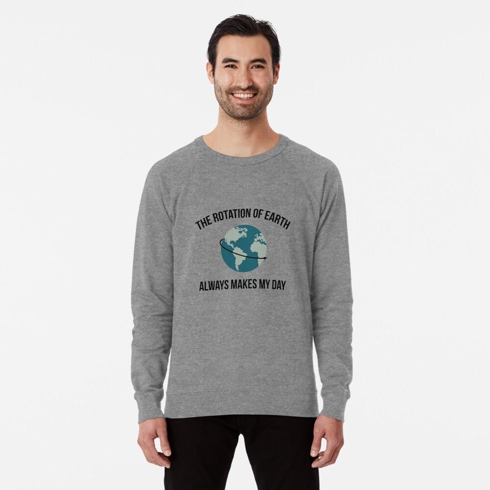 Die Rotation der Erde Leichter Pullover