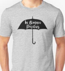 In Omnia Paratus Umbrella Unisex T-Shirt