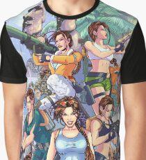 Tomb Raider III - 20 Years of Tomb Raider Graphic T-Shirt
