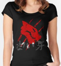 White Fang  Women's Fitted Scoop T-Shirt