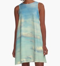 Catch a Cloud A-Line Dress