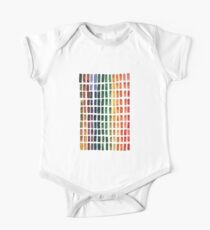 Watercolor Rainbow Pallete Kids Clothes