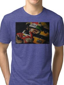 Legend Ayrton Senna Tri-blend T-Shirt