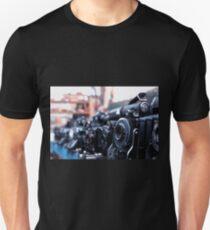 Retro Camera - Agifold square frame T-Shirt