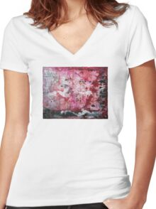 The Myth That Came To Life Women's Fitted V-Neck T-Shirt