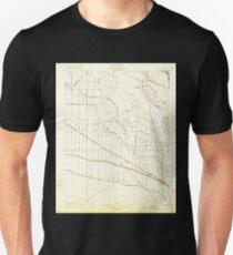 USGS TOPO Map California CA Oxalis 296388 1922 31680 geo Unisex T-Shirt
