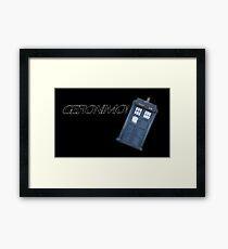 Geronimo - Blue Box Framed Print