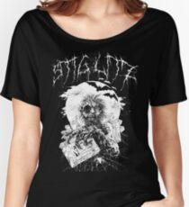 Say You Love Satan 80s Horror Podcast - Hugo Stiglitz VHS Zombie Women's Relaxed Fit T-Shirt