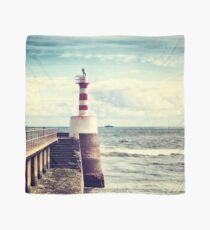 Amble Pier Lighthouse Scarf