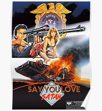 Say You Love Satan 80s Horror Podcast - Sgt. Satan Poster