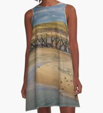 The Meeting Place A-Line Dress