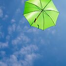 Green Umbrella by Walter Quirtmair