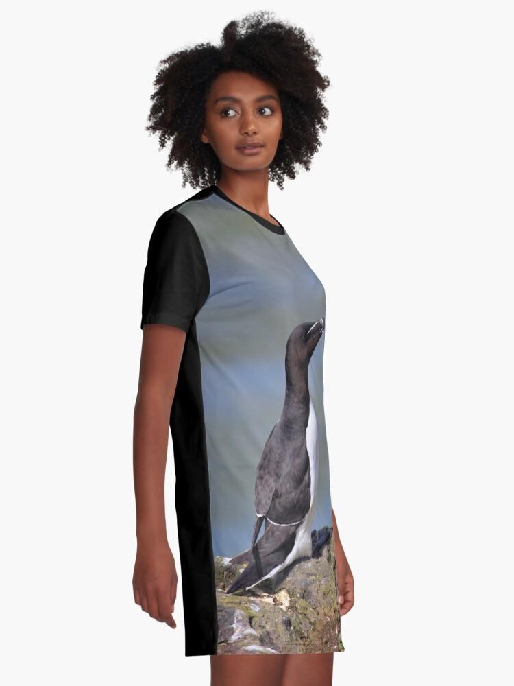 Alternate view of Razorbill Graphic T-Shirt Dress