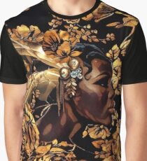 Black & Gold Graphic T-Shirt
