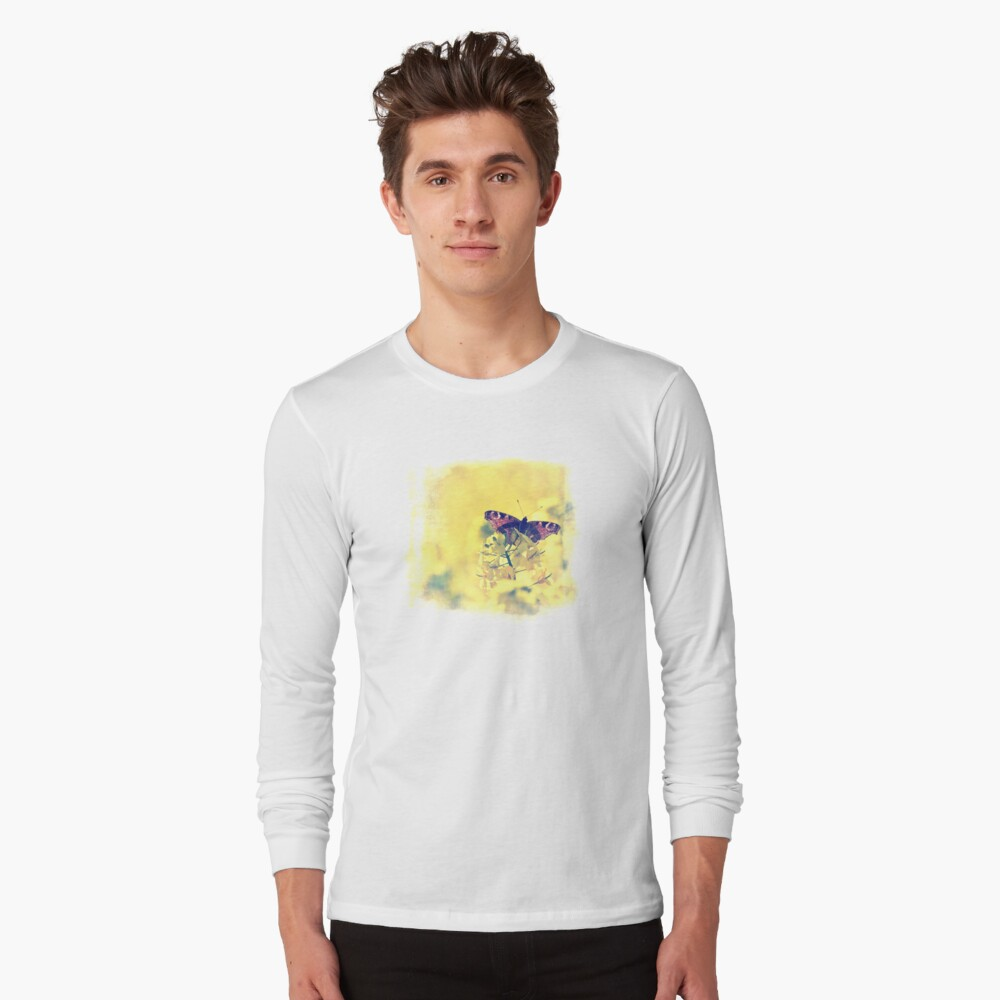 Sunshine and Butterflies Long Sleeve T-Shirt