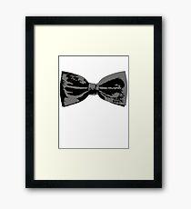 Bow Tie (Straight) Framed Print