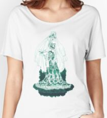 Enchantress in Emerald Ink Women's Relaxed Fit T-Shirt