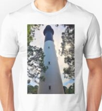 Looking Up Hunting Island Lighthouse Beaufort SC Unisex T-Shirt