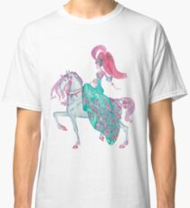 Fairy Tale Princess and Horse Classic T-Shirt