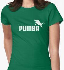 Pumba Logo Womens Fitted T-Shirt
