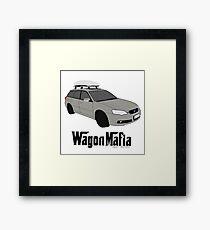 Subaru Legacy Wagon Mafia Framed Print