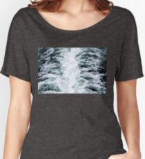 Turbulent Water From Ship Women's Relaxed Fit T-Shirt