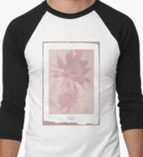 Negative Flower Men's Baseball ¾ T-Shirt