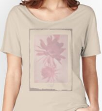 Negative Flower Women's Relaxed Fit T-Shirt