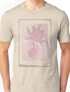 Negative Flower Unisex T-Shirt