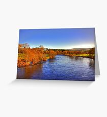 River Tay at Aberfeldy Greeting Card