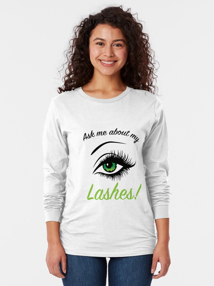 Alternate view of Lashboost Showoff Long Sleeve T-Shirt