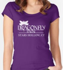 Gilmore Girls – Dragonfly Inn Women's Fitted Scoop T-Shirt