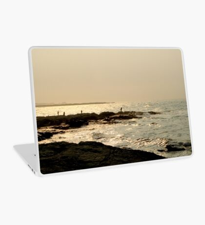 Fisherman in Newport  Laptop Skin