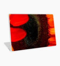 Red, Red, Sunflower Red! Laptop Skin