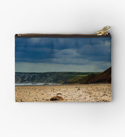 Hunmanby Gap, North Yorkshire Zipper Pouch