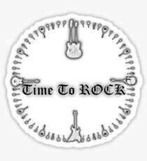 Time To Rock Sticker
