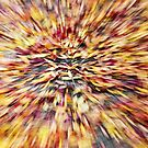 Leaf Abstract 1 by Rebecca Cozart