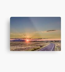 Sunset over Gunnedah Metal Print
