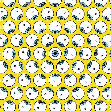 eyeball phone case by FrannyGlass