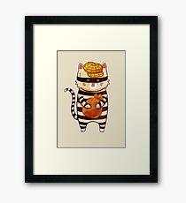 Catburglar Framed Print