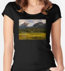 I Will Lift Up Mine Eyes unto the Hills Women's Fitted Scoop T-Shirt