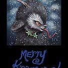 Merry Krampus 3 by Brett Manning