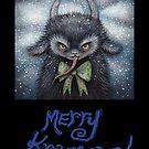 Merry Krampus 1 by Brett Manning