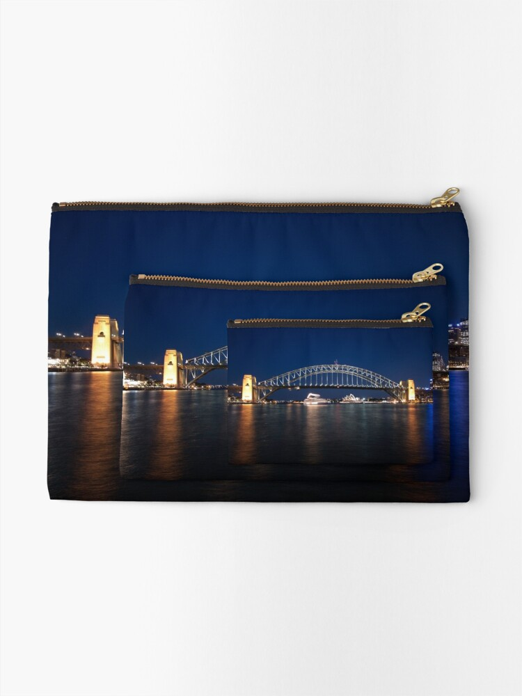 Alternate view of McMahons Point Zipper Pouch
