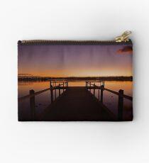 Dawn on the lake Studio Pouch