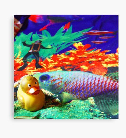 Felix - Sea Canvas Print